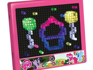 Give your kids some nostalgia with the $21 My Little Pony Lite Brite