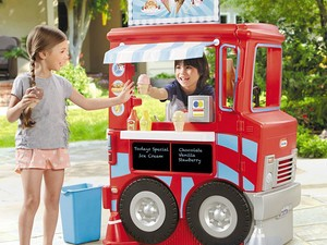 The Little Tikes 2-in-1 Food Truck is down to $90
