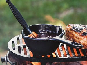 This $9 Lodge Cast Iron Melting Pot is super handy