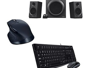 Various Logitech PC accessories are on sale for as little as $13 today