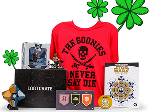 Get a free mystery box with this 20% discount for select Loot Crate packages
