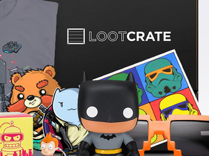 Try out Loot Crate with 40% off all subscriptions and a free $15 credit