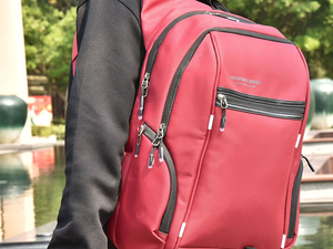 Luxur's $24 laptop backpack features USB ports to easily charge your device