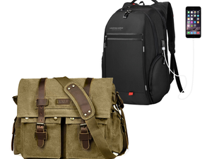 Carry your tech in one of Luxur's durable laptop backpacks from $12