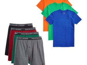 Select Polo Ralph Lauren briefs, boxers, and undershirts are 50% off