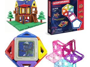 Magformers magnetic building block sets are on sale, starting at $15