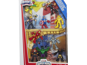 This $20 set of Marvel Avengers figures is the perfect size for your toddler