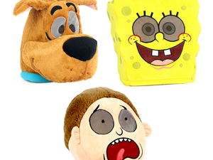Be a beloved character for Halloween with amusing Maskimals plush masks from $16