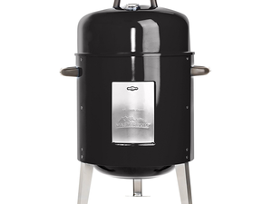 Start cooking with the Masterbuilt Charcoal Bullet Smoker for $45