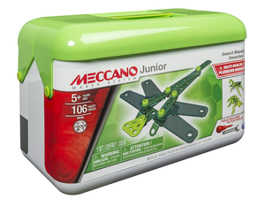 Junior builders can create three Insect models with this $5 Meccano Toy Set