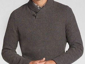 Score select Men's Wearhouse sweaters for $10 shipped today only