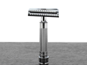 Shape up with Merkur's $36 Slant Bar Double-Edge Safety Razor