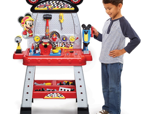 Join the pit crew with Disney's $28 Mickey and the Roadster Racers Workbench