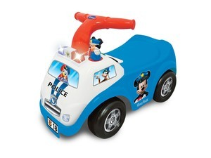 Chase down bad guys on this Mickey Mouse Ride-on toy for $15