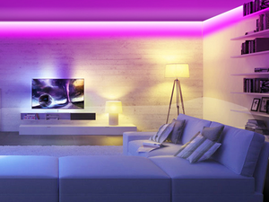 Create a cozy ambience in your home with this discounted LED light strips kit