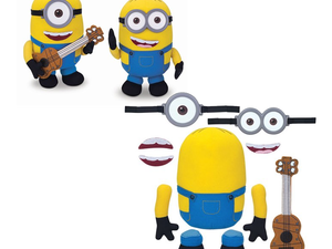 Use your imagination to build your own cuddly Minion plush for $8