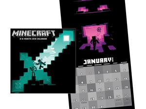 Count down the days 'til the weekend with this $3 Minecraft 2018 Calendar