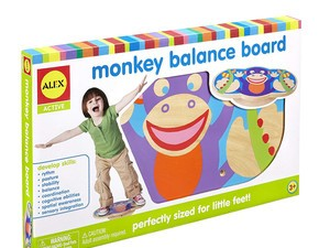This $11 Alex Active Monkey Board will get the wiggles out