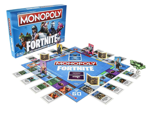 See how long you survive in Monopoly: Fortnite Edition for $16