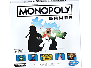 Battle with Bowser in the Collector's Edition of Monopoly Gamer for $28 today only