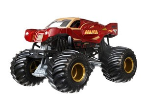The Hot Wheels Monster Jam Ironman Vehicle can be yours for $8