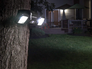 Install the weatherproof Mr Beams Wireless Motion Sensing LED Spotlight anywhere for $35