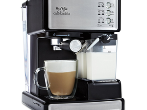 Be your own barista and still get your name wrong with the $100 Mr. Coffee espresso machine