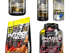 Recover from your lifting sessions with up to 30% off MuscleTech protein powders and supplements