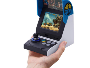 Replay your arcade faves with $15 off the NEOGEO Mini International portable console