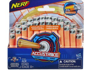 Add 25 additional Nerf Elite AccuStrike darts to your Amazon order for $4