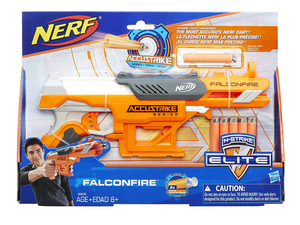 Pick up Nerf's single-shot FalconFire blaster for just $8 today