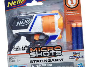 Shoot off some shots in secret with the $7 Nerf MicroShots Strongarm
