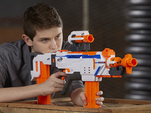 Send your friends running for cover with the $30 Nerf Modulus Regulator