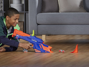 Set up an obstacle course with these Nerf Nitro car blaster sets from $10