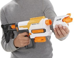 Be prepared for the holiday shenanigans with this $11 Nerf Recon Blaster