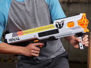 Start a Nerf battle royale with 'buy 2, get 1 free' on blasters and accessories at Target