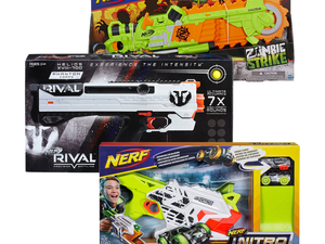 Pick up two Nerf products and get another free at Target this week only