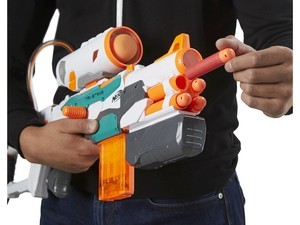 Take down your friends with this Nerf Modulus Tri-Strike for $32