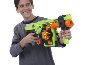 Fight off pretend undead with the $20 Nerf Zombie Strike Doominator
