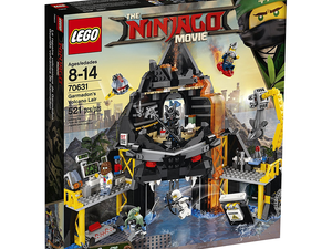 Explore Garmadon's Volcano Lair from 'The Lego Ninjago Movie' with this $40 building kit