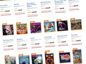 Beef up your Nintendo Switch game collection with this limited time eShop sale