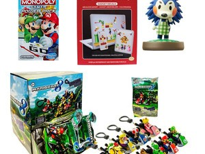Pop a few Nintendo collectibles in their stockings for as low as $2 shipped