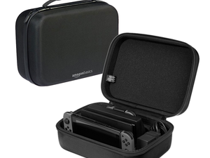 Protect your Nintendo Switch during travel with the $15 AmazonBasics Storage Case