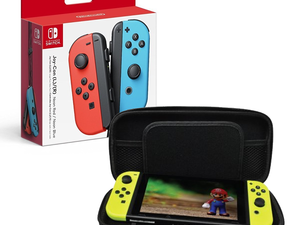 This $69 Nintendo Switch Joy-Con bundle comes with essential bonuses