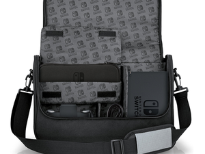Bring your Nintendo Switch and all its gear on your next trip with this $28 Everywhere Messenger Bag