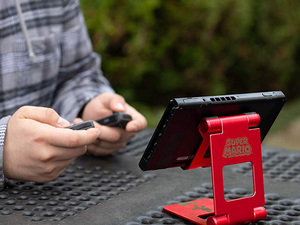 Fix your Nintendo Switch's kickstand problem with PowerA's compact Mario stand at $5 off