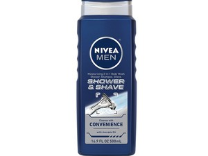 Lather up with a 3-pack of $9 Nivea Men's body wash