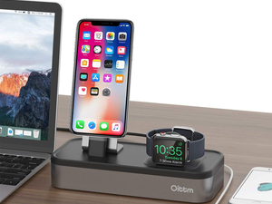 Tidy up your desk with this $20 charging stand for iPhone, Apple Watch, more!