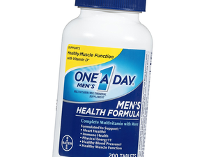 Stock up with 200 One-A-Day Men's Health multivitamins for $10