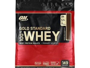 Save on 10 pounds of Optimum Nutrition Gold Standard protein